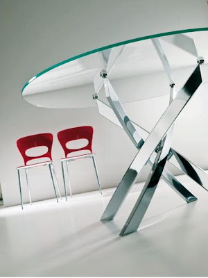 Modern Dining Table from Bontempi