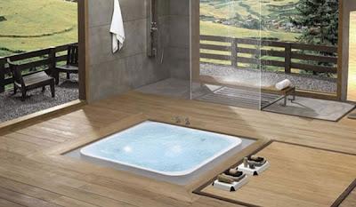 Modern bathtub, Bathroom Design, Bathtub Design, Natural Concept Bathtub Design by Kaesch, Modern Bathroom