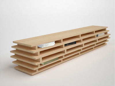 Bookcase Furniture, Bookcase Design, Furniture Design, Aissa Logerot