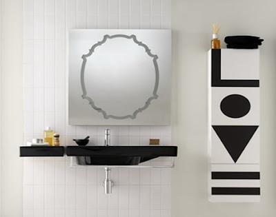 Black and White Bathroom Furniture