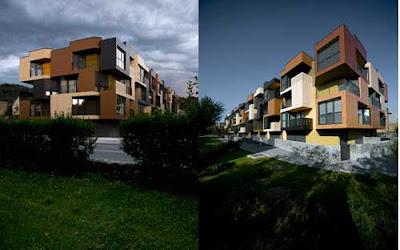 Tetris Apartments by Ofis