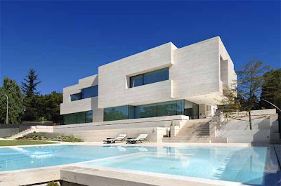 Modern House Design in Las Rozas by A-cero Architects