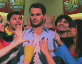 creepy,guy,subway,commercial,weird,dancer,2009,five,dollar,footlong