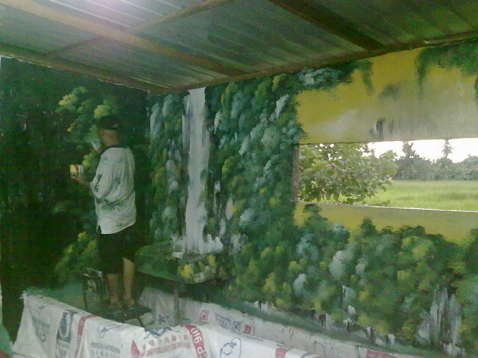 Lukisan Pemandangan Hitam Putih Batikindonesiaorg Pictures