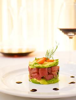 Food Photograph of Tuna Tartar