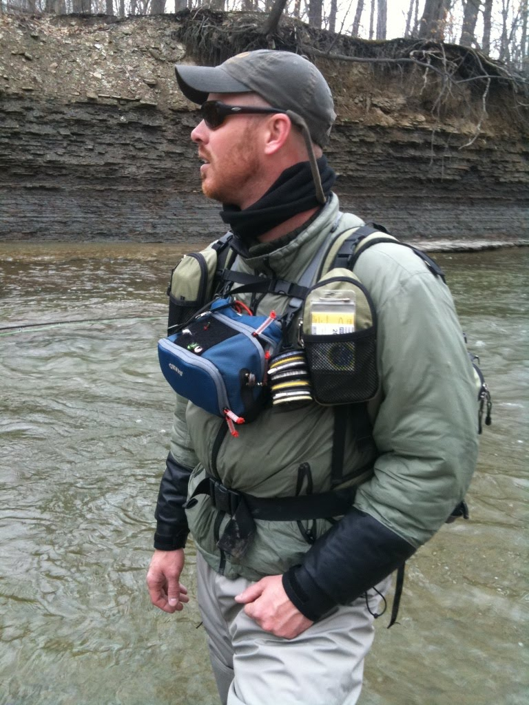 Steelhead alley outfitters lake erie fly fishing guide for Orvis fishing report