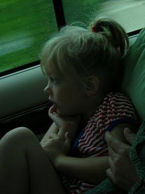 Dara in a car