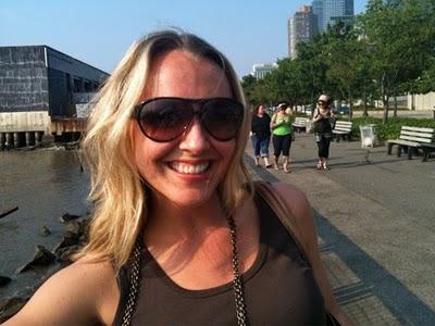 Kristin Campbell in Manhattan