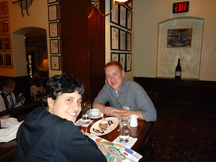 Carla and John at the Brown Derby