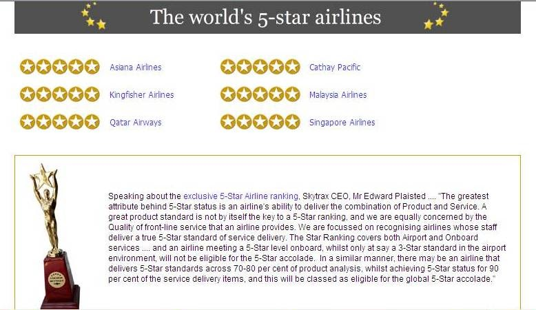EVA Air Becomes The 8th Skytrax 5-Star Airline - One Mile at a Time