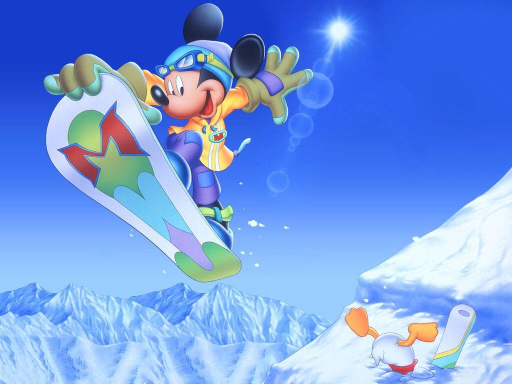 Fondos de dibujos animados - Mickey Mouse