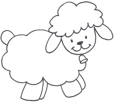 dibujos para colorear oveja