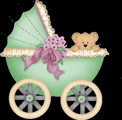 Bebé en cochecito animado - Imagui