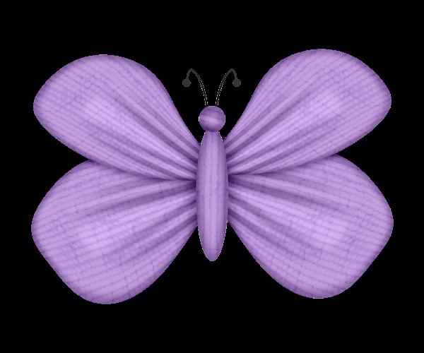 Mariposa morada animada - Imagui