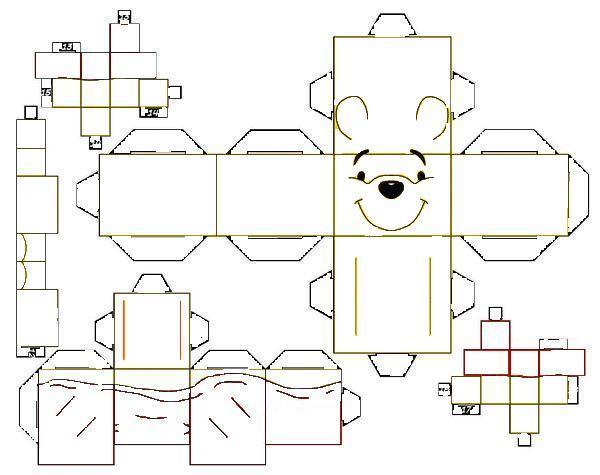 Figuras para recortar y armar de animales - Imagui