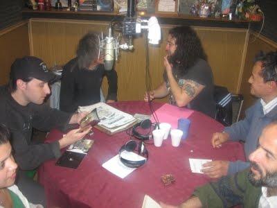 REUNIDOS EN LA RADIO