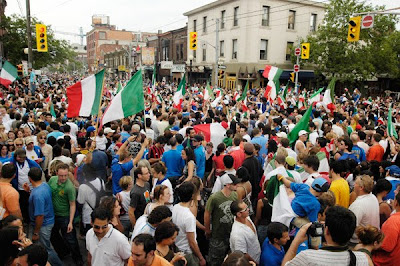 college street world cup 2006 italy win