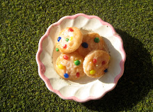 Miniature Rainbow Cookies