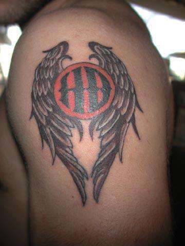 Tattoos harley davidson and biker tats