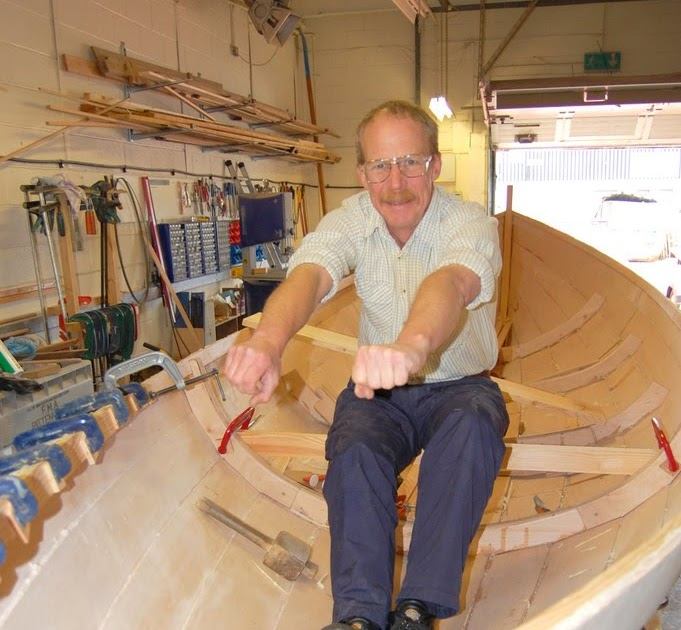 ROWING FOR PLEASURE: Rowing positions for the St Ayles Skiff