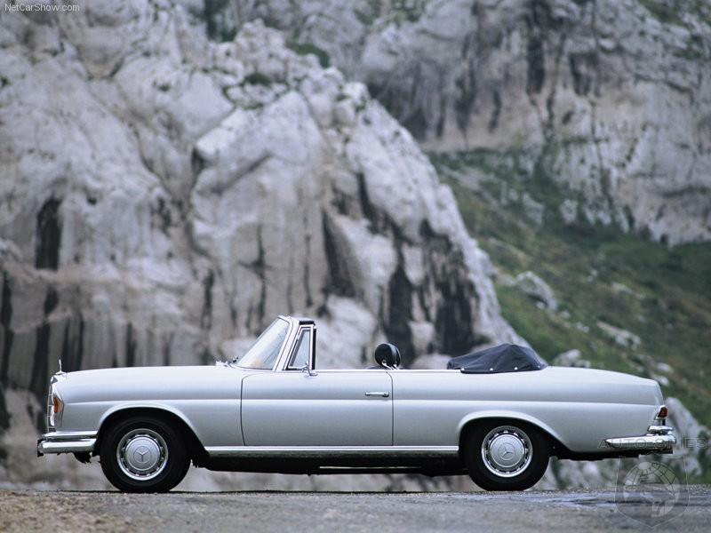 1969 Mercedes Benz 280 Se 3.5 Cabriolet. the perfect cabrioletand