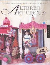 Altered Art Circus By Lisa Kettell