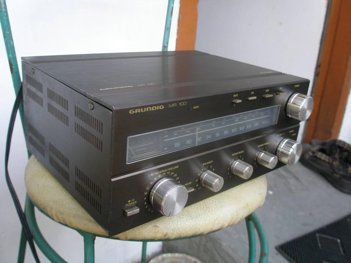 audio2nd: Mini Hifi Receiver GRUNDIG MR 100 (SOLD)