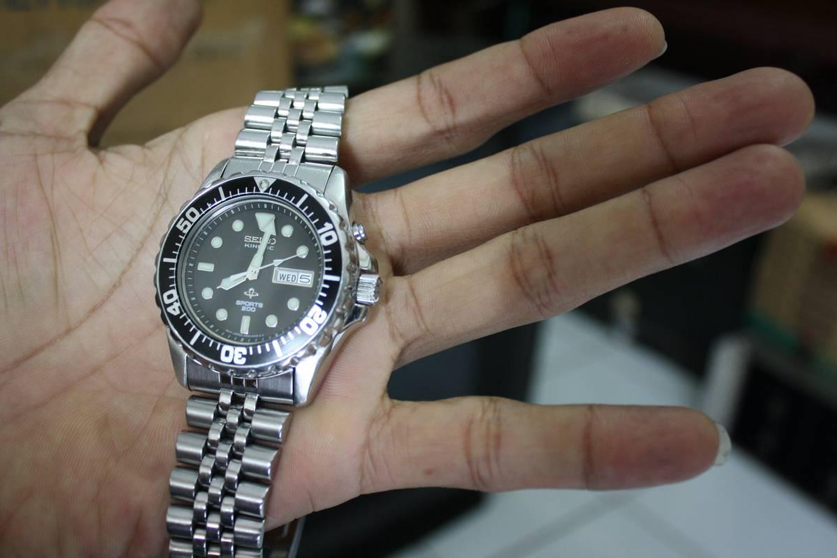 harga jam seiko kinetik on sale $ koleksi jam: Seiko Kinetic Diver's 200 M