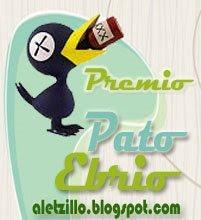 PREMIO PATO EBRIO