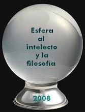 PREMIO ESFERA AL INTELECTO Y FILOSOFIA