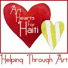 Help for Haiti Art Hearts