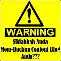 Cara Backup Content Blog dengan Facebook