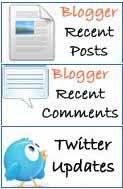 Cara Mudah Menampilkan Recent Post, Recent Comment dan Twitter Update di Blog