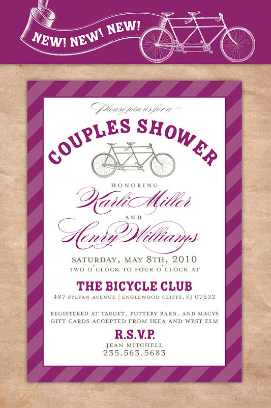 bicyclecouplesshower webshot Birthday Party Ideas Birmingham Al
