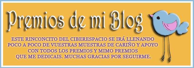 Premios de mi blog