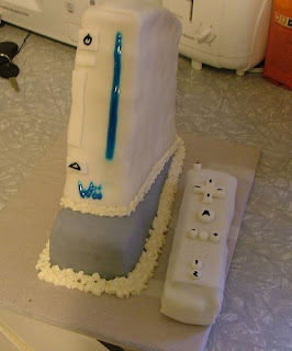 Wii Birthday Cake