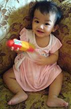 Kaisara Afiqah ( 1 tahun )
