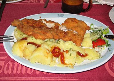 Чехия, еда, цены