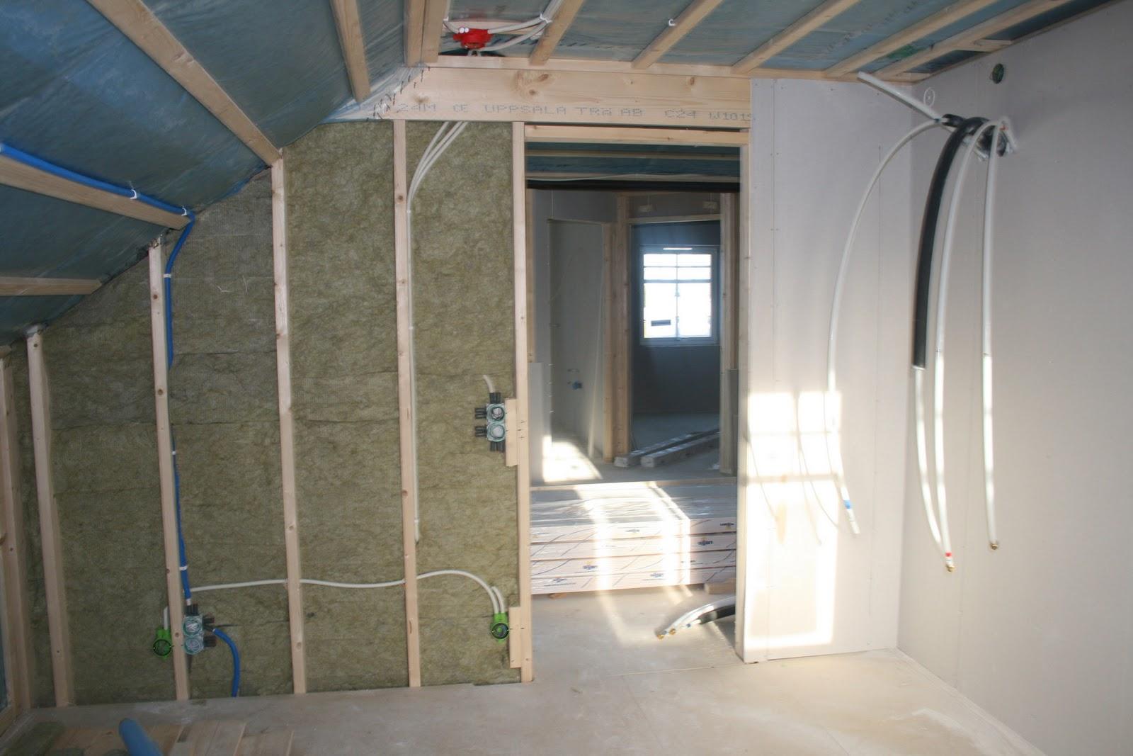 gipsning av vägg