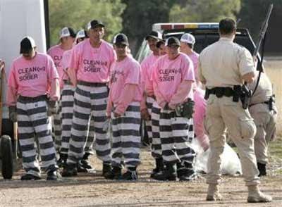 criminals hav 2 badbecause hav 2 wear pink