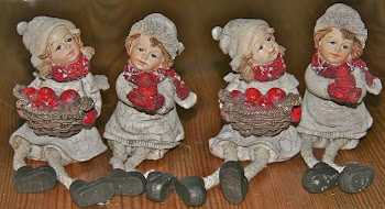 4 little swedish xmas angels