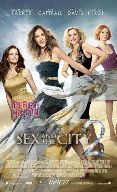 Final Sex and the City 2 Movie Poster released