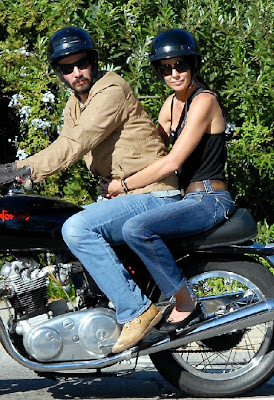 Celebrity News: Keanu Reeves comforts Trinny Woodall after marriage