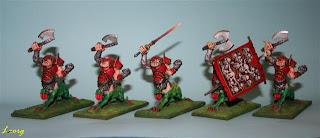 Grupo completo de Ogros Dragones DS2