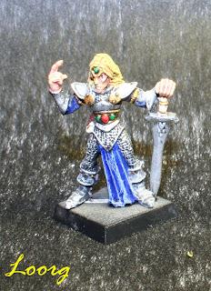 Captain Caelgar Sorrowblade, capitán de los Elfos Silvanos