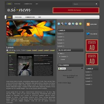 sinem blogger template convert wordpress theme to blogger template with automatic slideshow image template blog