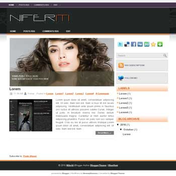 Niferiti blogger template convert wordpress theme to blogger template with image slideshow blogger template for celebrities template blog reviews