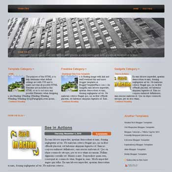 Studio Click blogger template converted from css template to blogger template with image slidshow blogger template and 3 column top blogger template for template blogspot