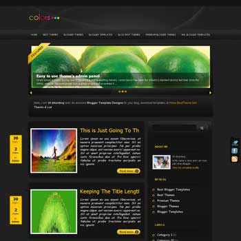 Black On template blogger converted from wordpress theme to blogger template with image slider template blog magazine style template blogger template. image slider template blogspot. magazine style blogspot template
