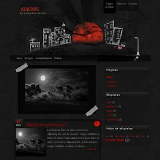 Atheros blogger template. blogger template with image slideshow. blogger template black color. blogspot template with image slideshow